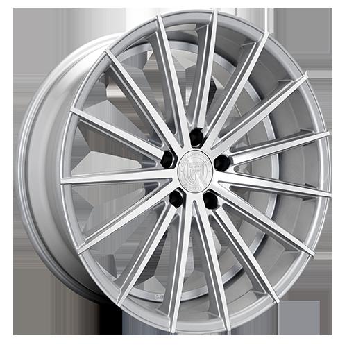 Lexani Wheels PEGASUS Silver Machined