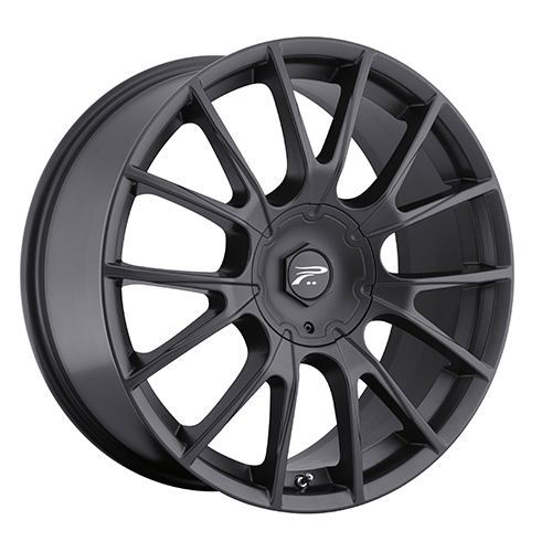 Platinum Wheels 401 Marathon Satin Black