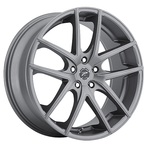 Platinum Wheels 412 Opulent Satin Graphite Grey
