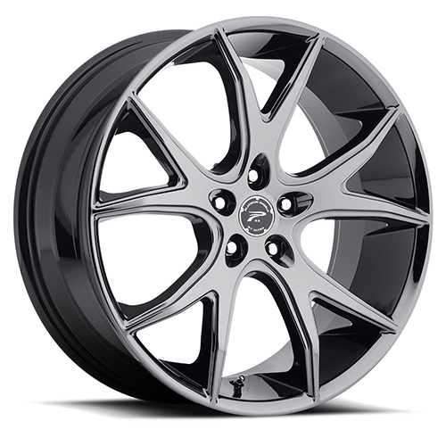 Platinum Wheels 419 Recluse Black PVD