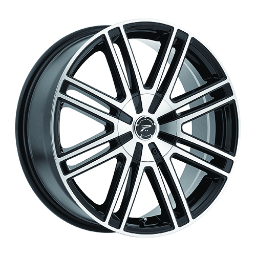 Platinum Wheels 434 Orion Gloss Black w/ Diamond Cut Face