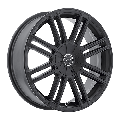 Platinum Wheels 434 Orion Satin Black