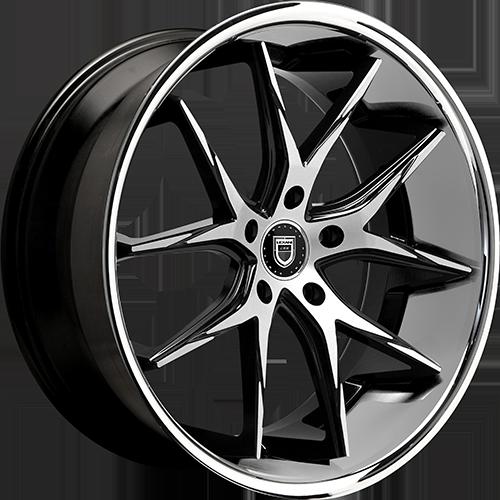 Lexani Wheels R12 Machined Face W/SS Lip