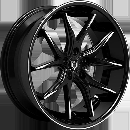 Lexani Wheels R12 Machined Tips