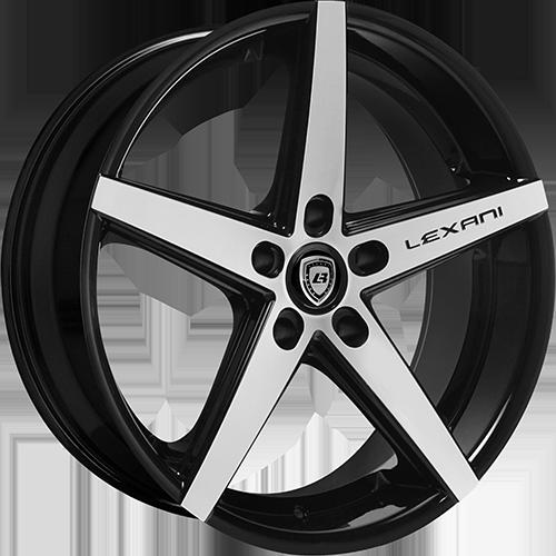 Lexani Wheels R4 Machined Face