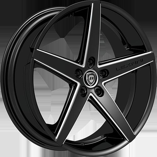 Lexani Wheels R4 Machined Groove