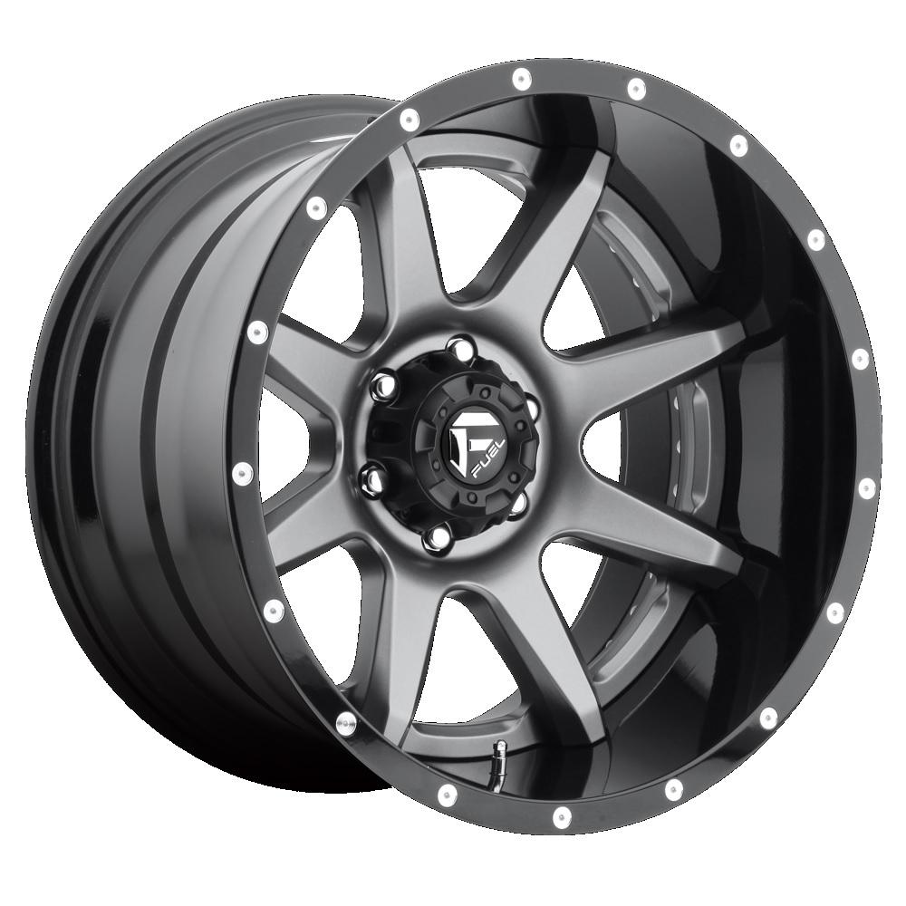 Fuel Offroad Wheels Rampage Gunmetal