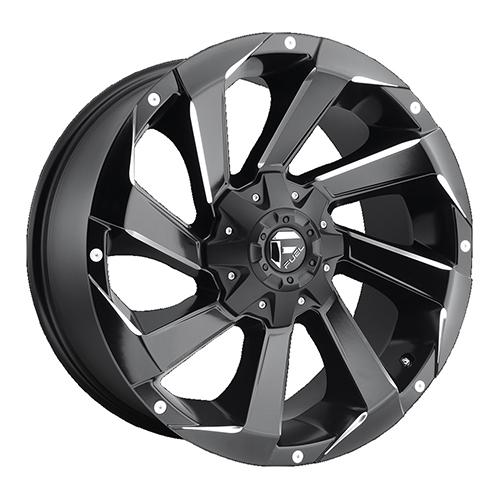 Fuel Offroad Wheels Razor Black Milled
