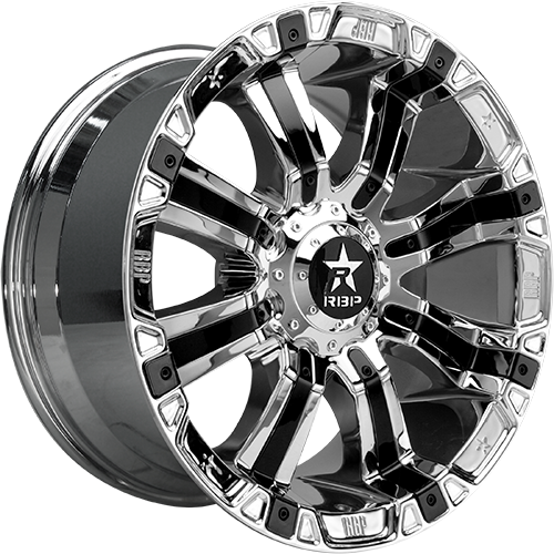 RBP Offroad Wheels 94R Chrome with Black Inserts
