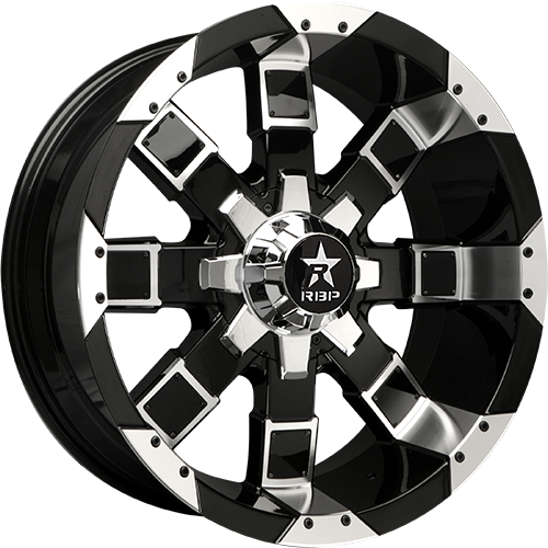 RBP Offroad Wheels 95R Black/Machined