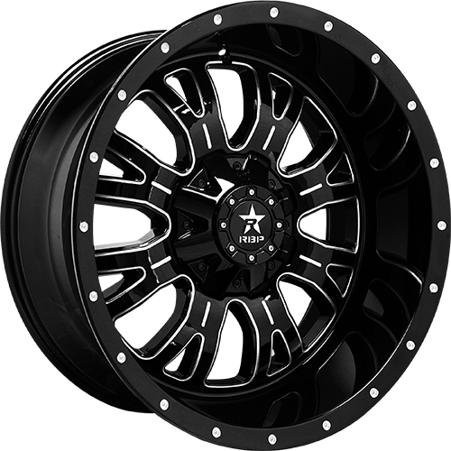 RBP Offroad Wheels Assassin Gloss Black Machined Grooves