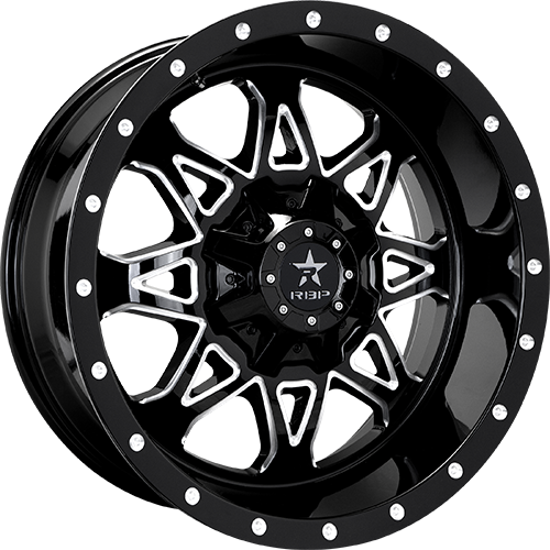 RBP Offroad Wheels Assault Gloss Black Machined Grooves