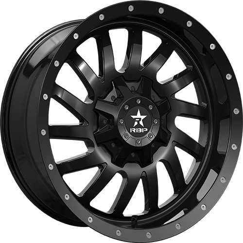 RBP Offroad Wheels Uzi Gloss Black