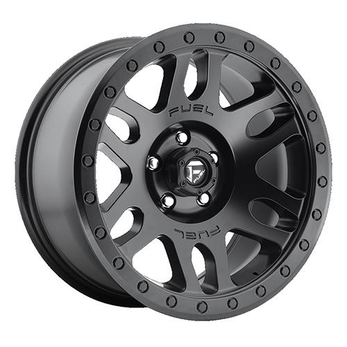 Fuel Offroad Wheels Recoil Matte Black