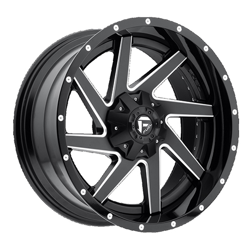 Fuel Offroad Wheels Renegade Black Milled