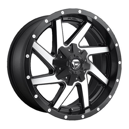 Fuel Offroad Wheels Renegade Black Machined