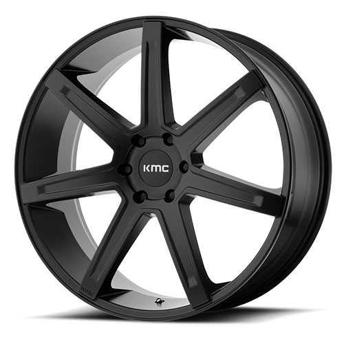 KMC Wheels Revert Satin Black