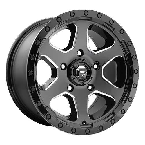 Fuel Offroad Wheels Ripper - Aus Black Milled