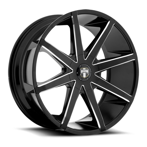 Dub Wheels S109 PUSH Black/Milled