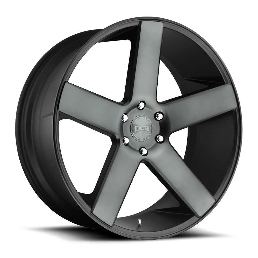 Dub Wheels S116 BALLER Black/Machined-Milled