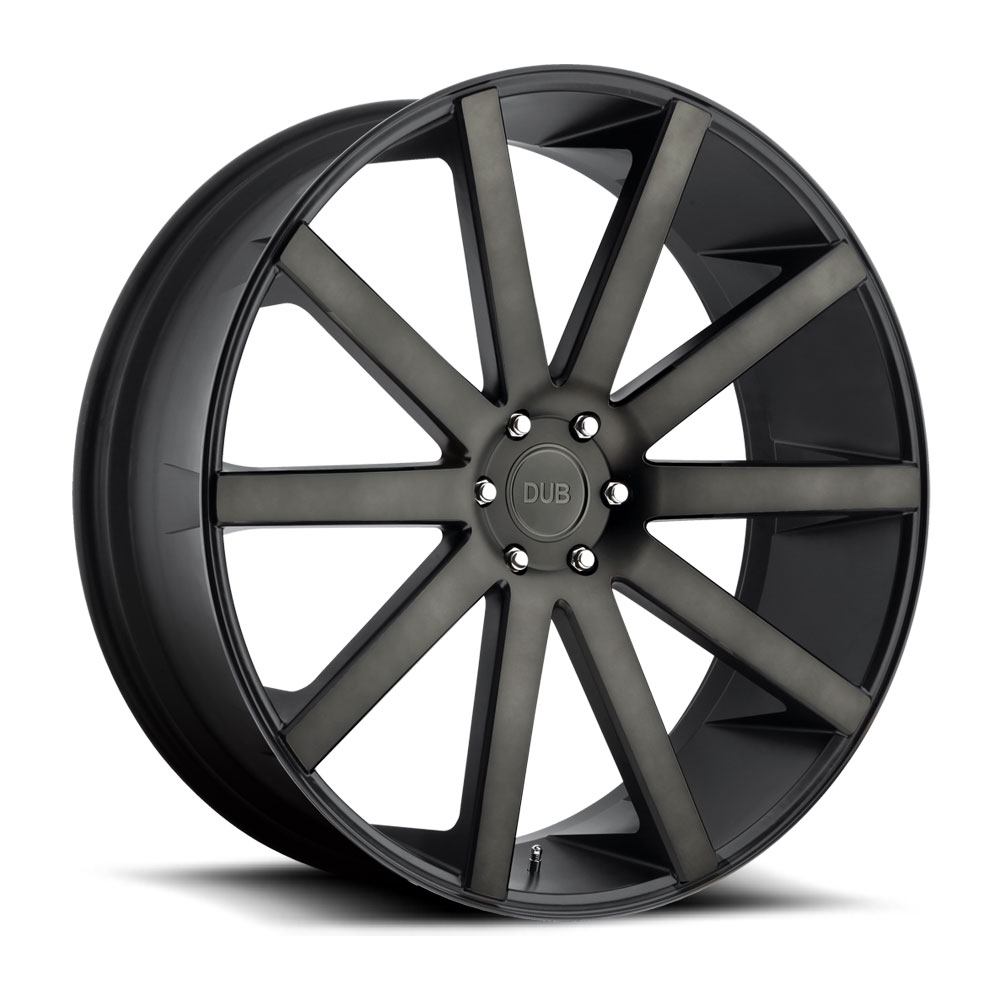 Dub Wheels S121 Shot Calla Black/Machined-Milled