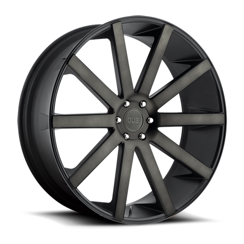 Dub Wheels S121 Shot Calla Black/Machined