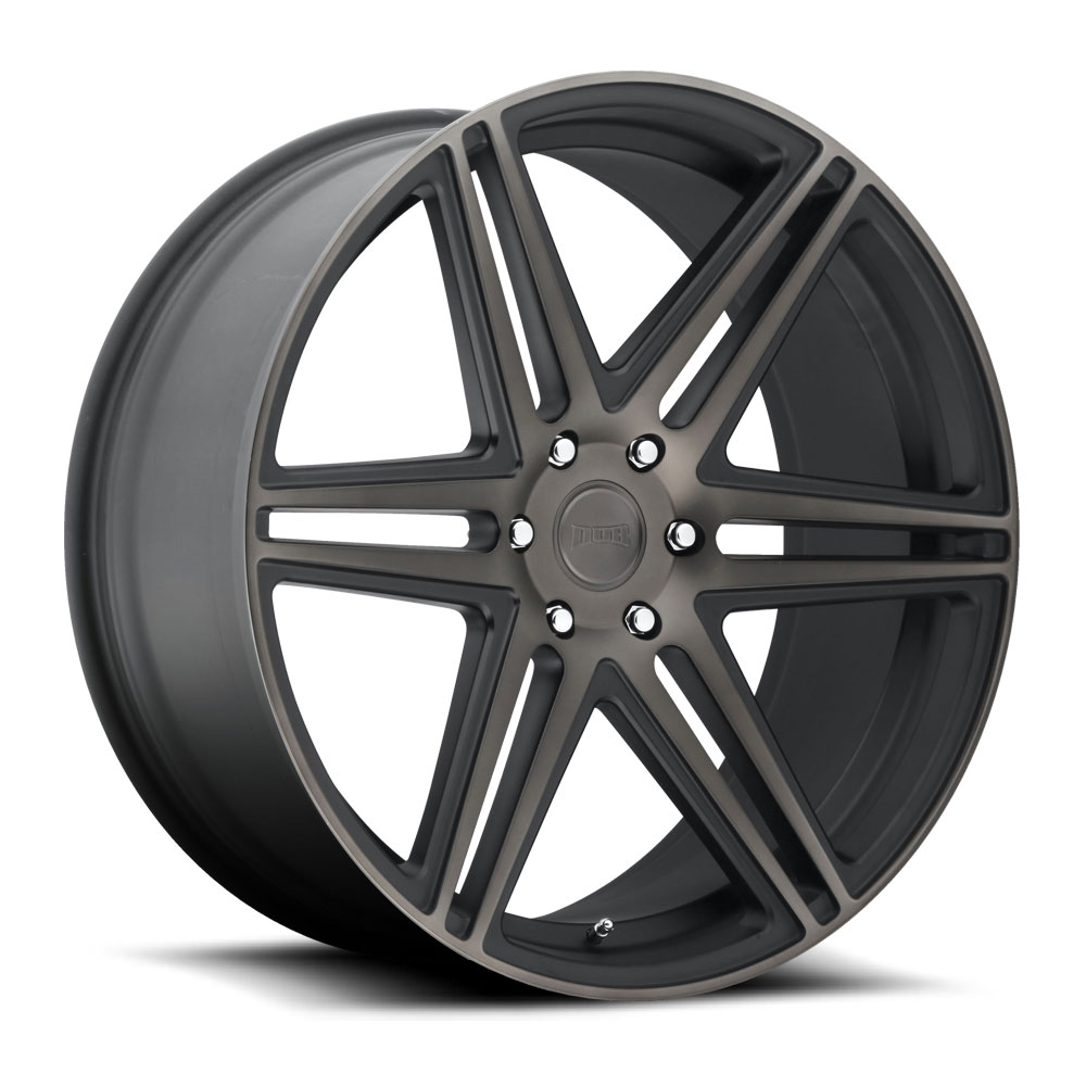 Dub Wheels S123 SKILLZ Black/Machined-Milled