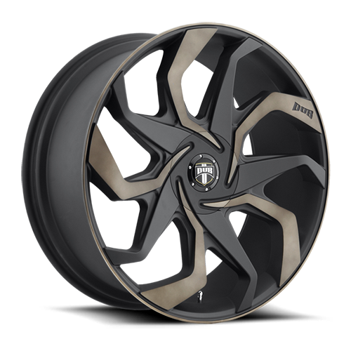 Dub Wheels S125 Sleeper Black/Machined