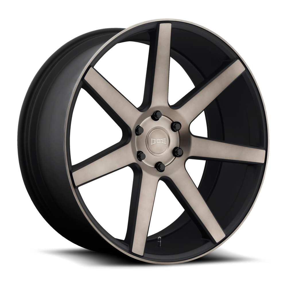 Dub Wheels S127 Future Black/Machined-Milled