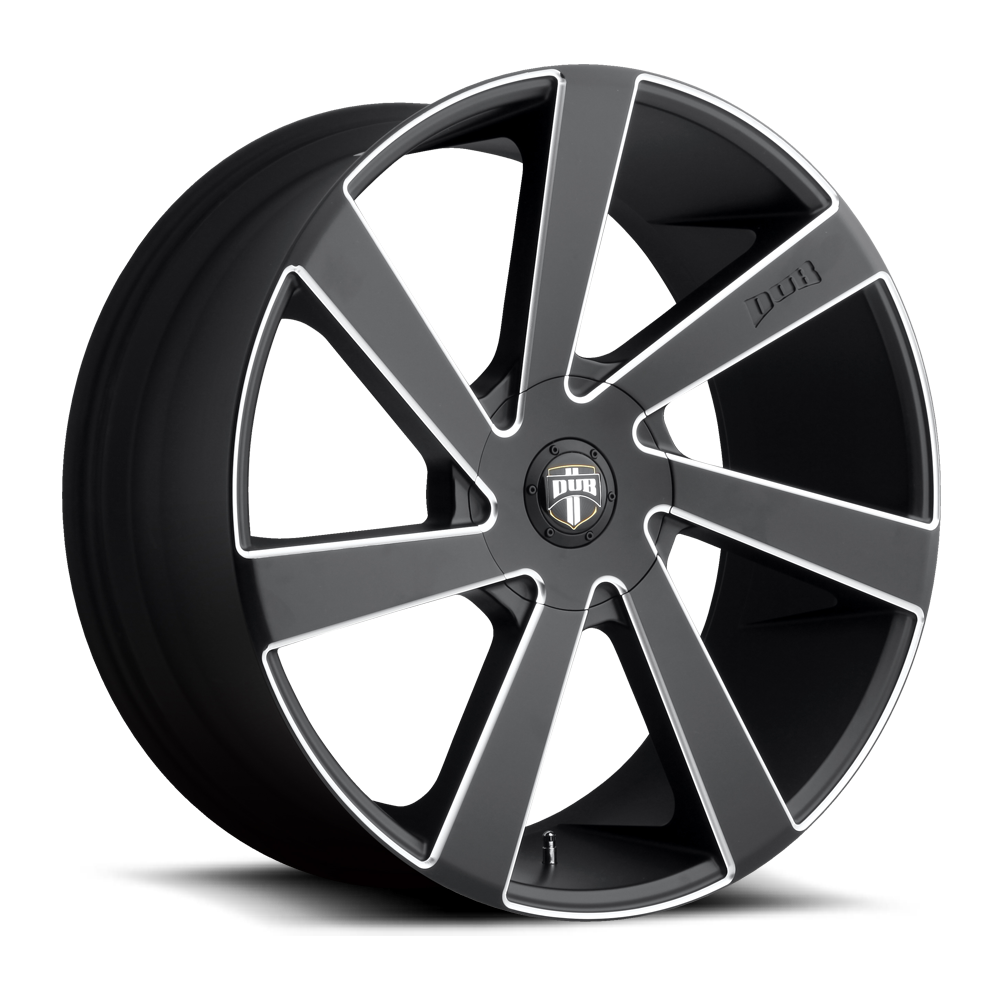 Dub Wheels S133 Direct Black/Machined-Milled