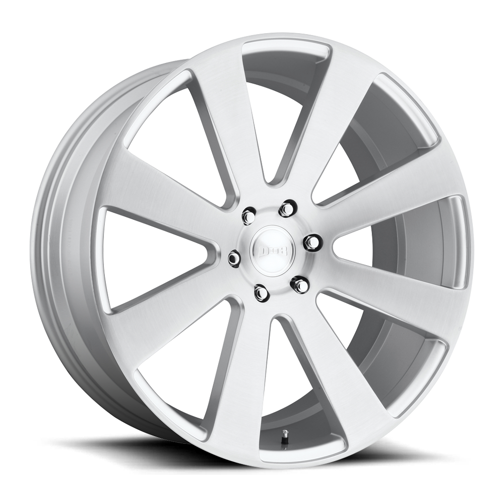 Dub Wheels S213 8-BALL Silver