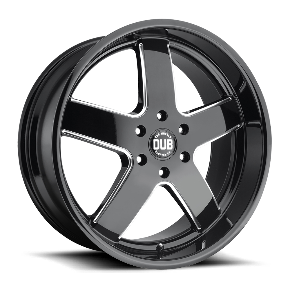 Dub Wheels S223 Big Baller Black