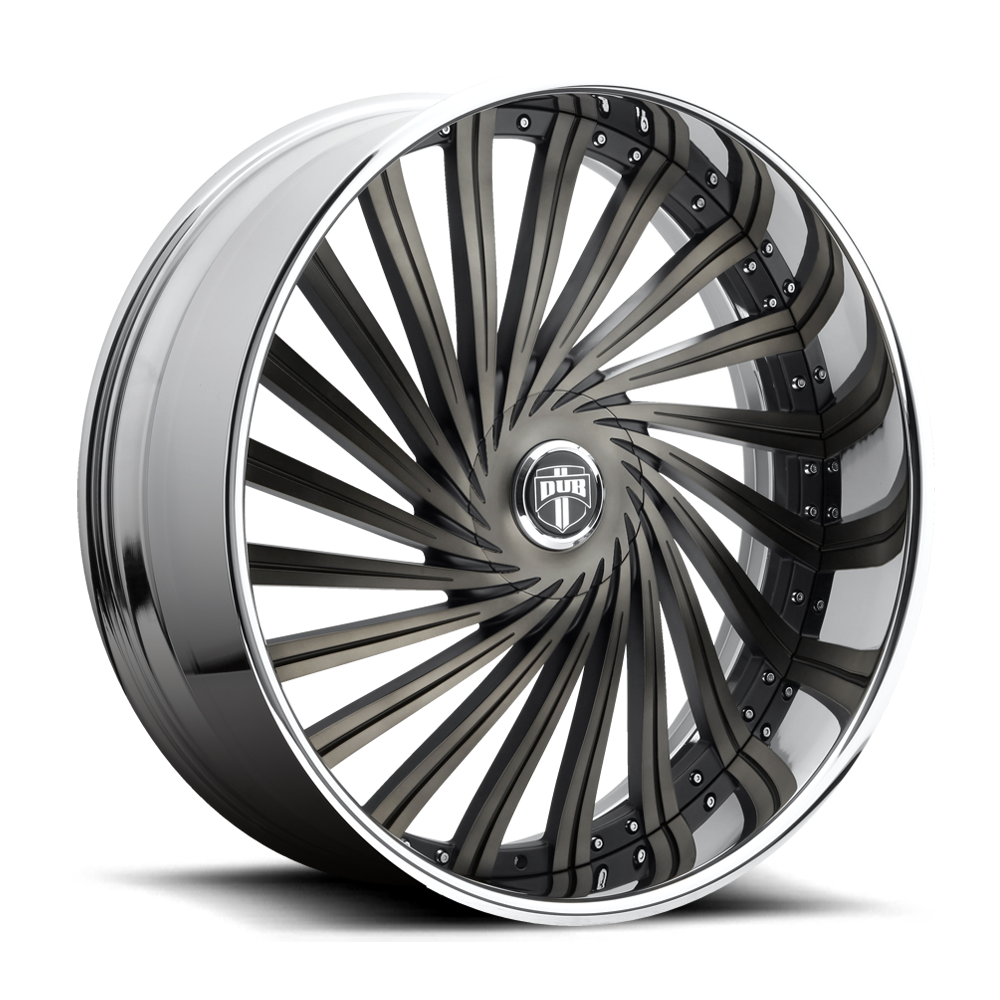 Dub Wheels S241 DAZE Black/Machined-Milled