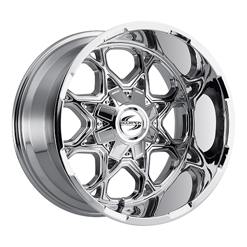 Scorpion Offroad Wheels SC10 Chrome