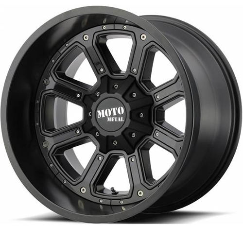 Moto Metal Offroad Wheels  Shift Matte Black With G-Blk Inserts