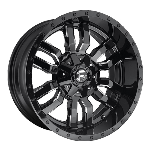 Fuel Offroad Wheels Sledge Black Milled