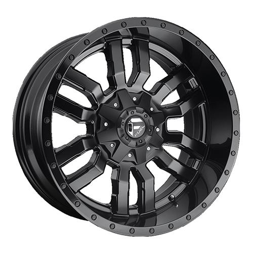 Fuel Offroad Wheels Sledge Gloss Matte Black