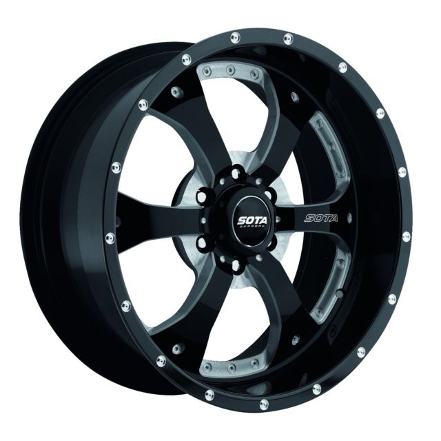 - Wheel Specials - SOTA Offroad Wheels Novakane 6 Blk Milled