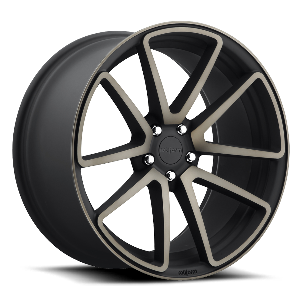 Rotiform Wheels R121 SPF MBD-Black Mach DDT