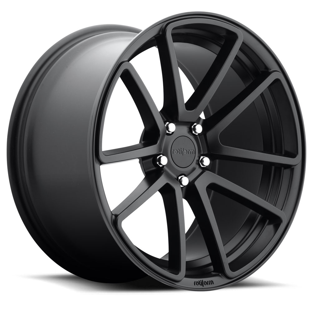 Rotiform Wheels R122 SPF BD -Black Matte
