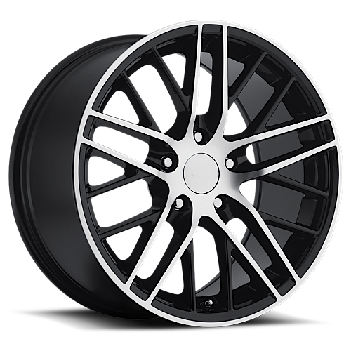 Sport Concepts Wheels 862 Gloss Black Machined