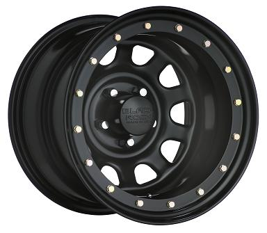 Black Rock Wheels Street Lock Matte Black