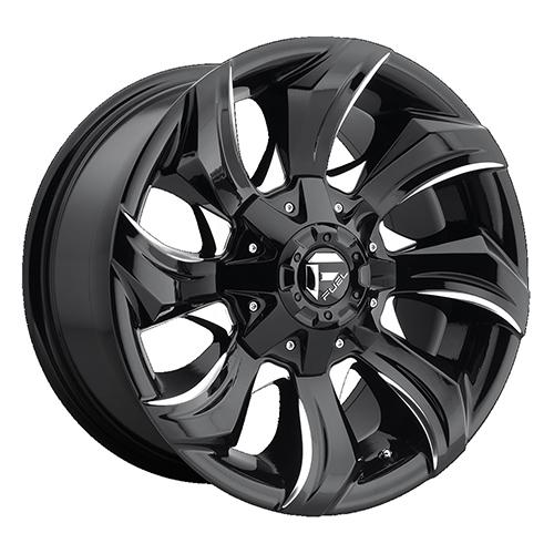 Fuel Offroad Wheels Strykr Black Milled