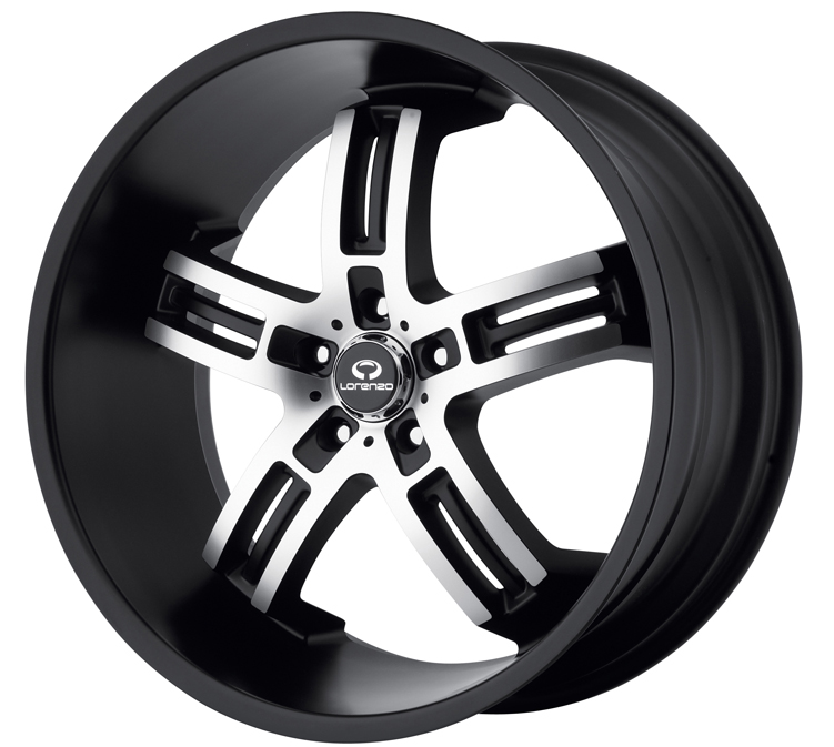 - WHEEL SPECIALS - WL026 BLACK MCH (SOLD AS A SET OF 4)