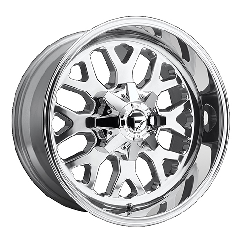 Fuel Offroad Wheels Titan Polished
