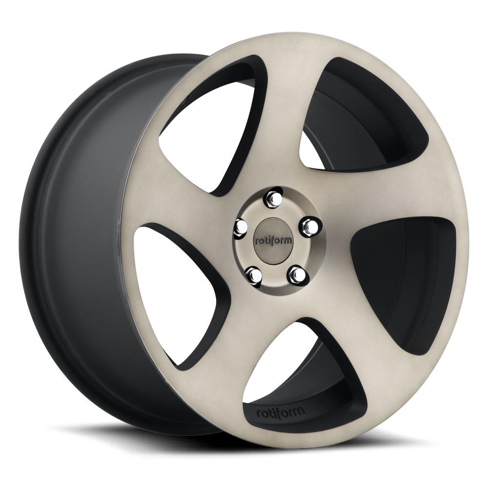 Rotiform Wheels R131 TMB MBD-Black Mach DDT