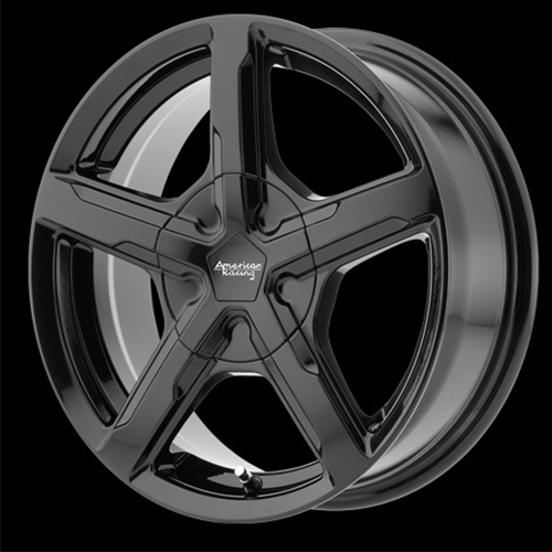 American Racing Wheels Trigger Gloss Black