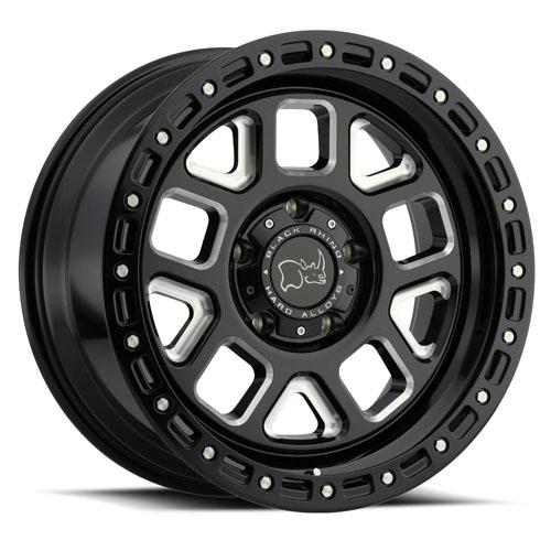 Black Rhino Wheels Alpine Black