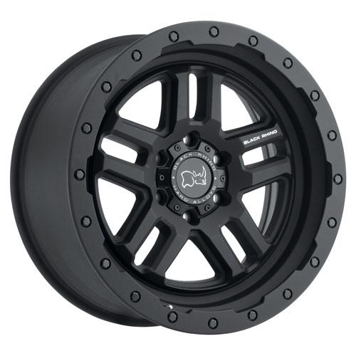 Black Rhino Wheels Barstow Black