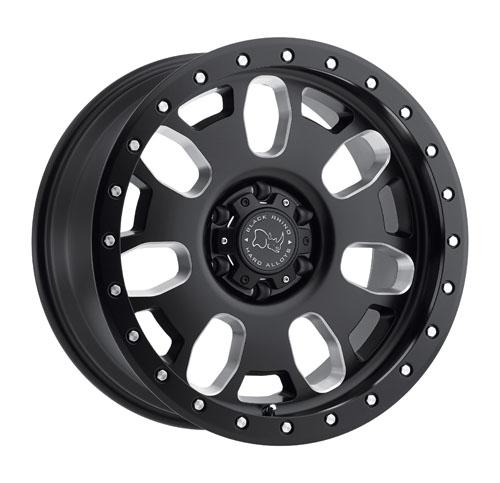 Black Rhino Wheels Block Black